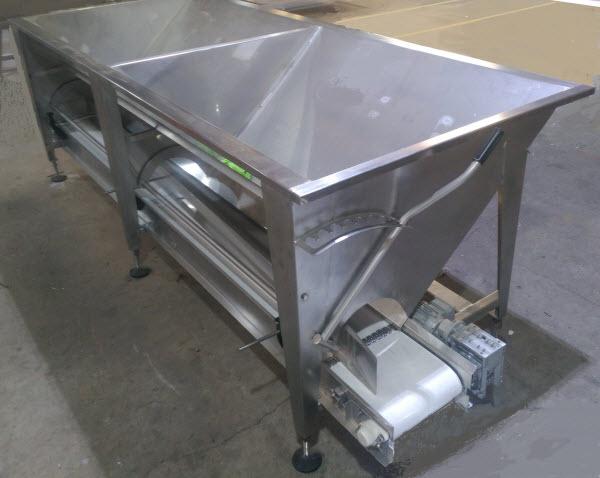 Metal bin equipment